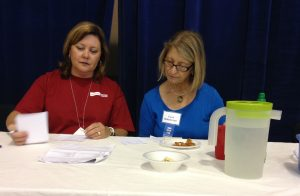 Judging at the State Fair level is serious business.
